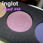 Inglot Pearl Eyeshadow 445 Review, Swatches, EOTD
