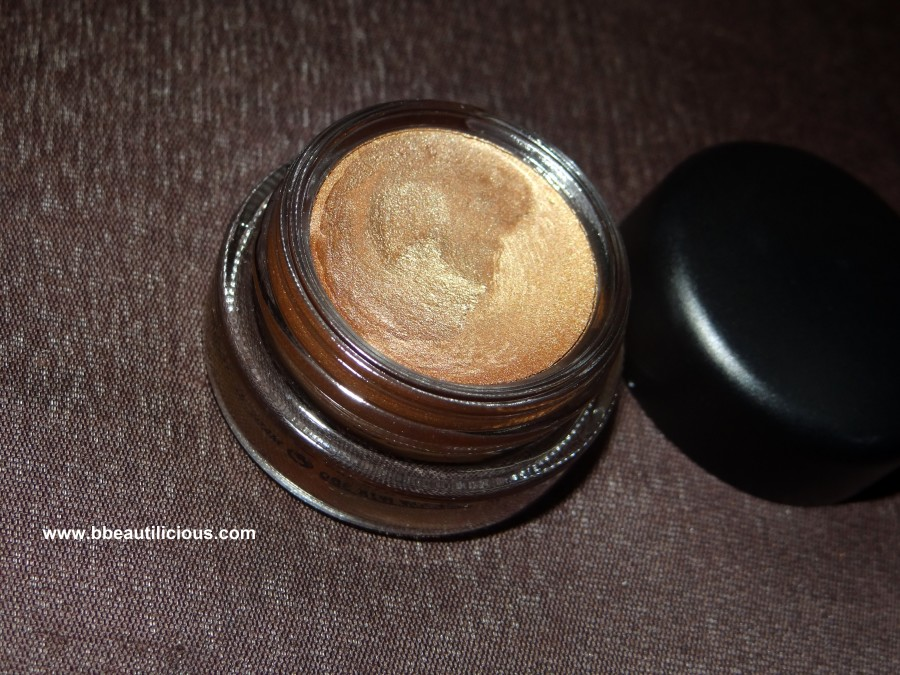 MAC Paintpot indianwood swatches