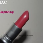 MAC Amorous Lipstick Review Swatches Photos
