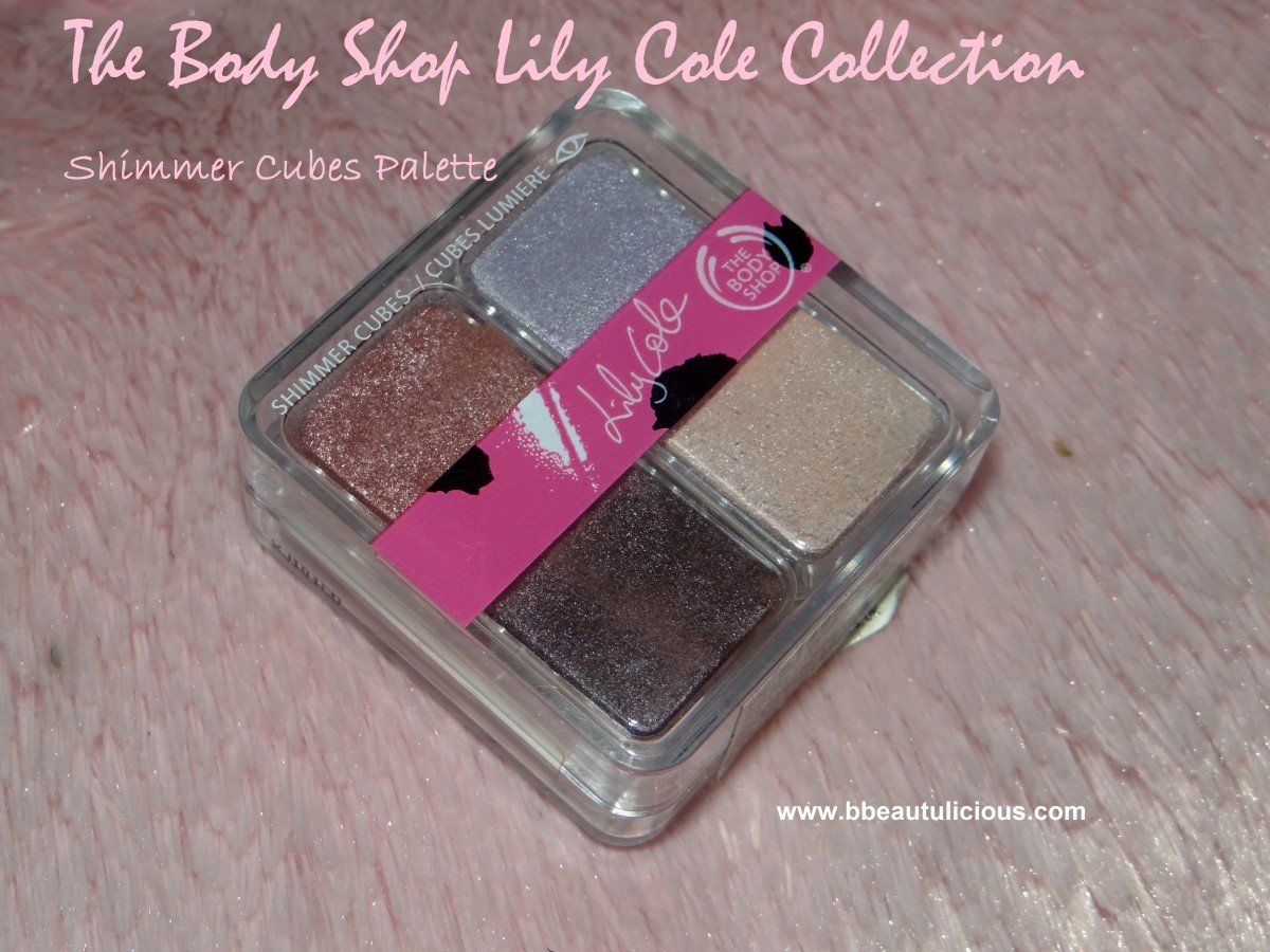 The Body Shop Shimmer Cubes Palette 24
