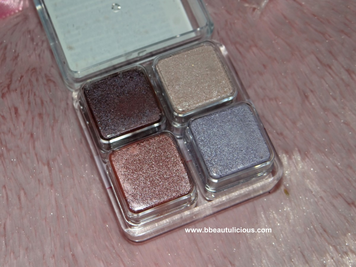 The Body Shop Shimmer Cubes Palette 24 Lily cole collection