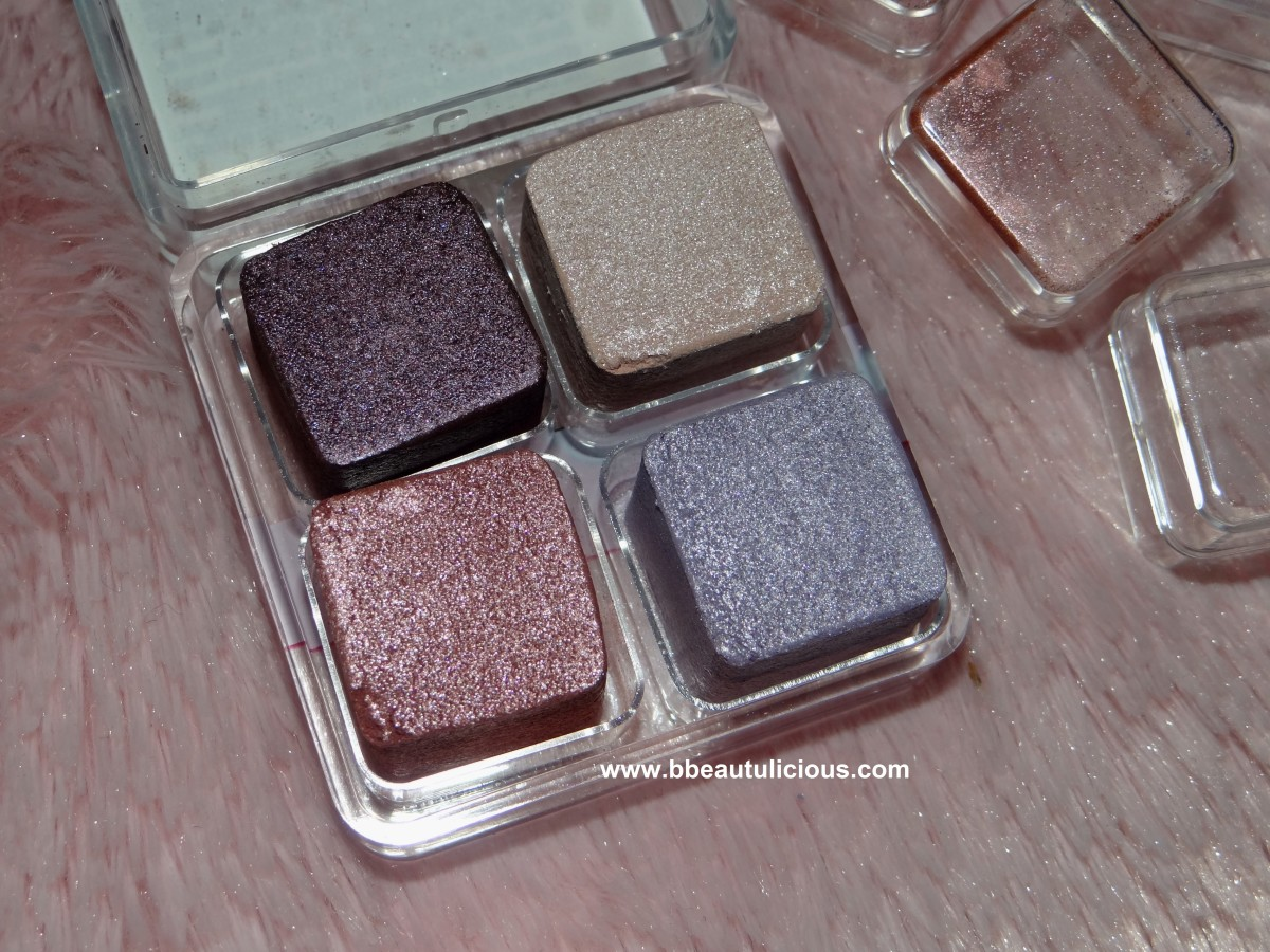 The Body Shop Shimmer Cubes Palette lili cole collection review