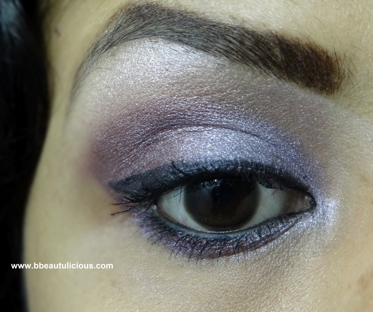 The Body Shop Shimmer Cubes Palette lili cole collection review and eotd