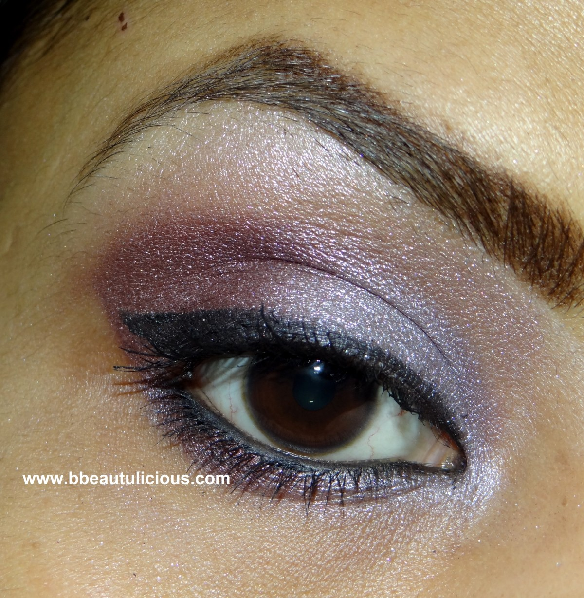 The Body Shop Shimmer Cubes Palette lili cole collection review and look