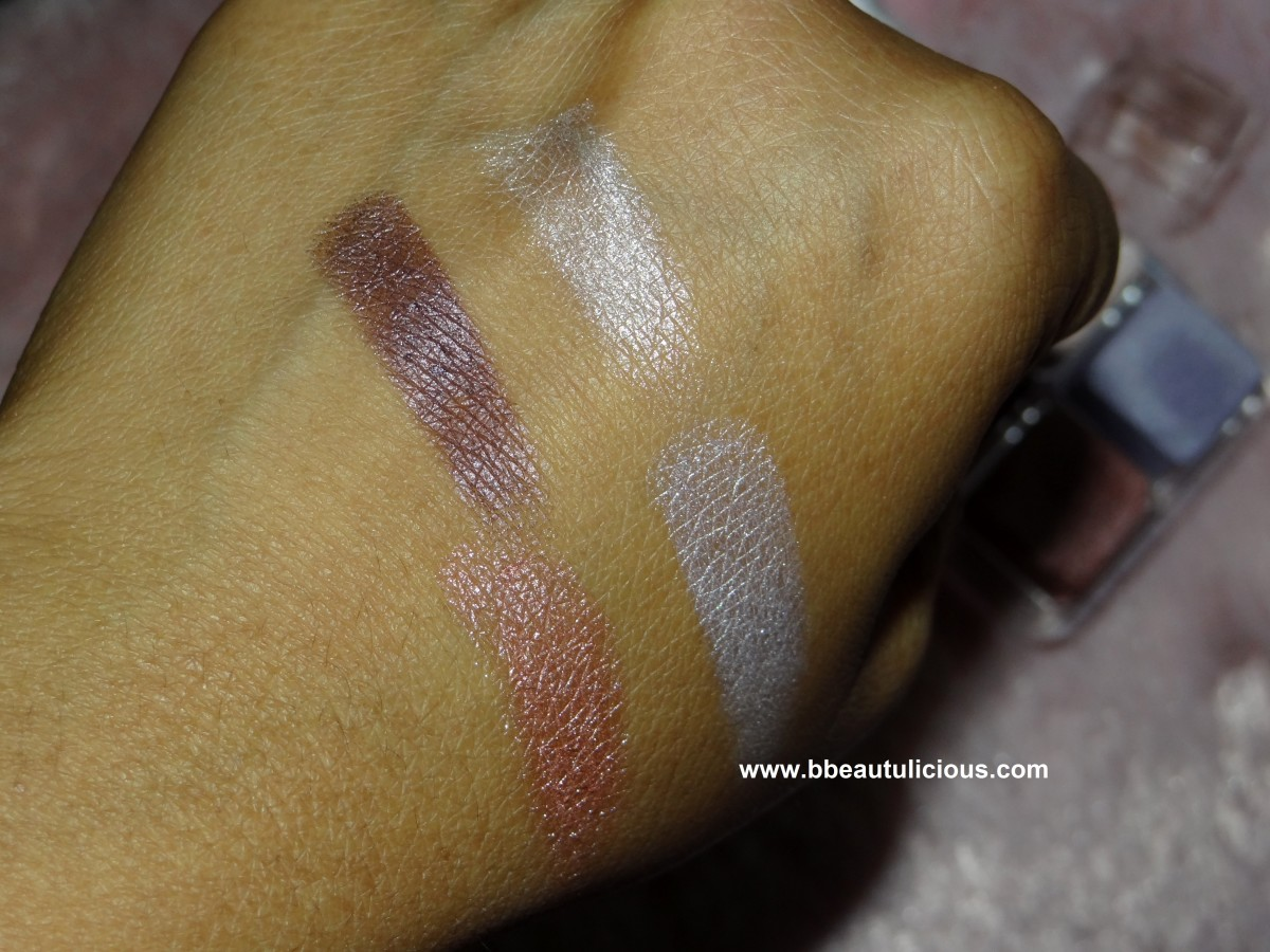 The Body Shop Shimmer Cubes Palette lili cole collection review and swatches