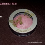 Accessorize Merged Baked Blusher Quiver Review Swatches Photos