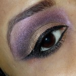 Inglot Eyeshadow AMC shine 49 Review Swatches EOTD