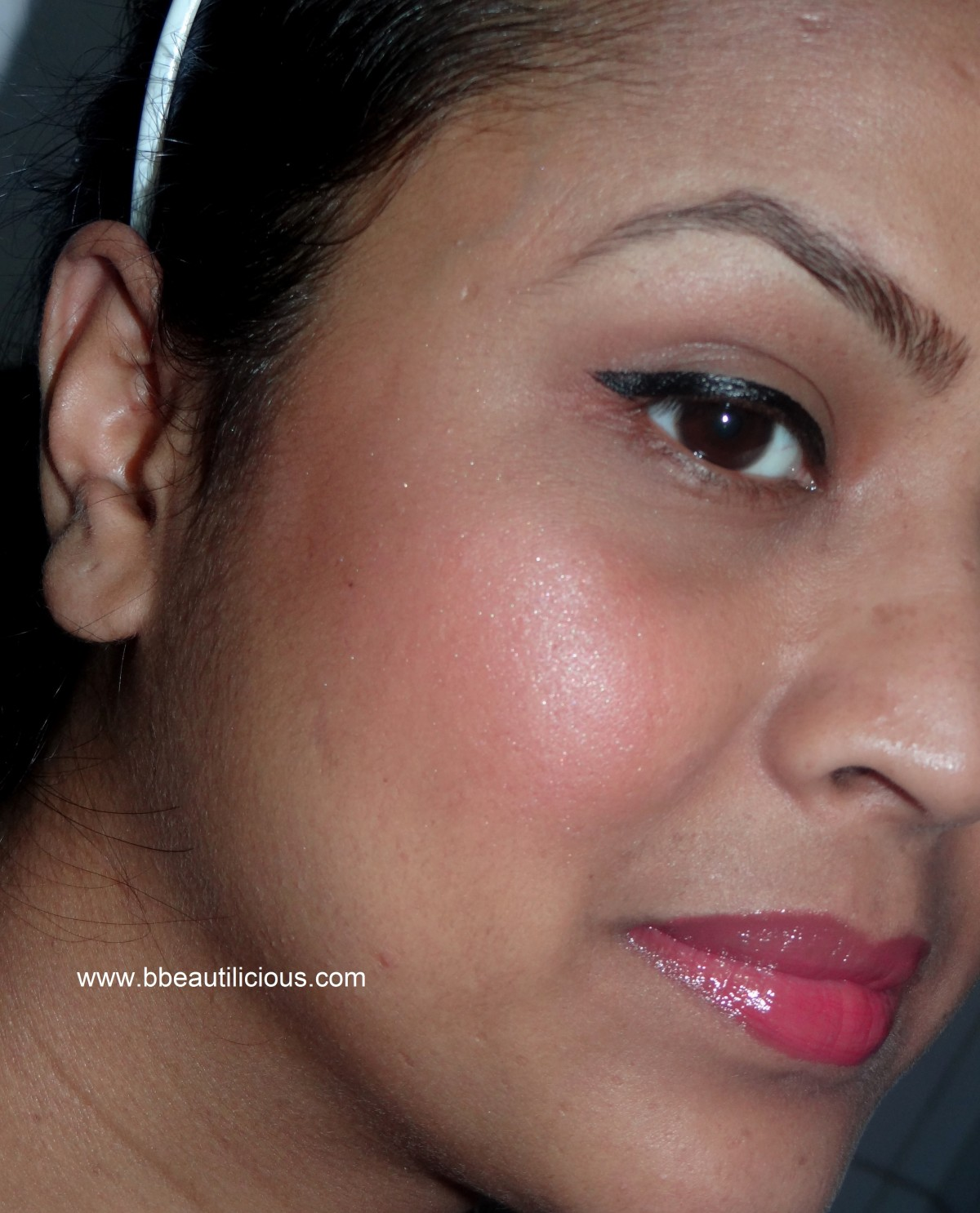 Lancome Blush Subtil 03 Rose Boise review swatches