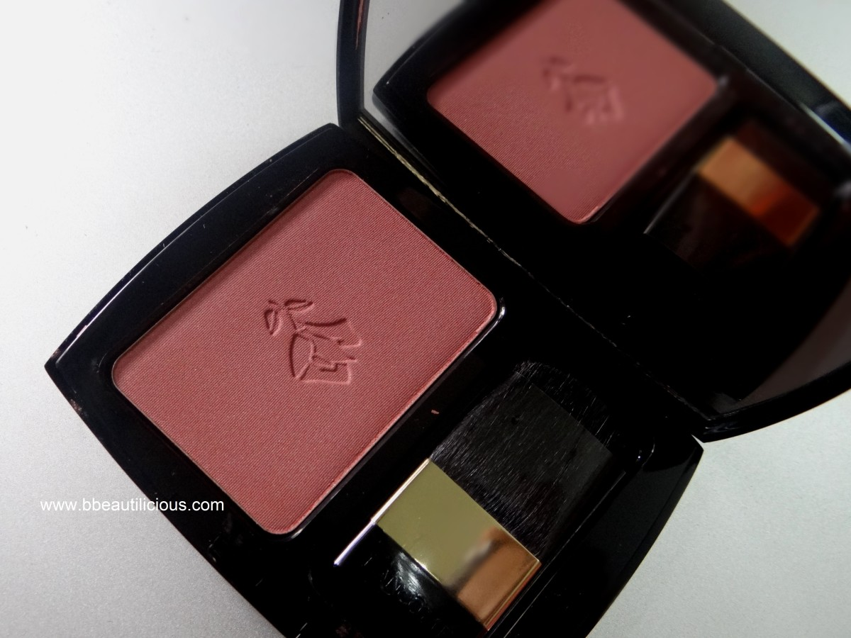 Lancome Blush Subtil 03 Rose Boise swatches