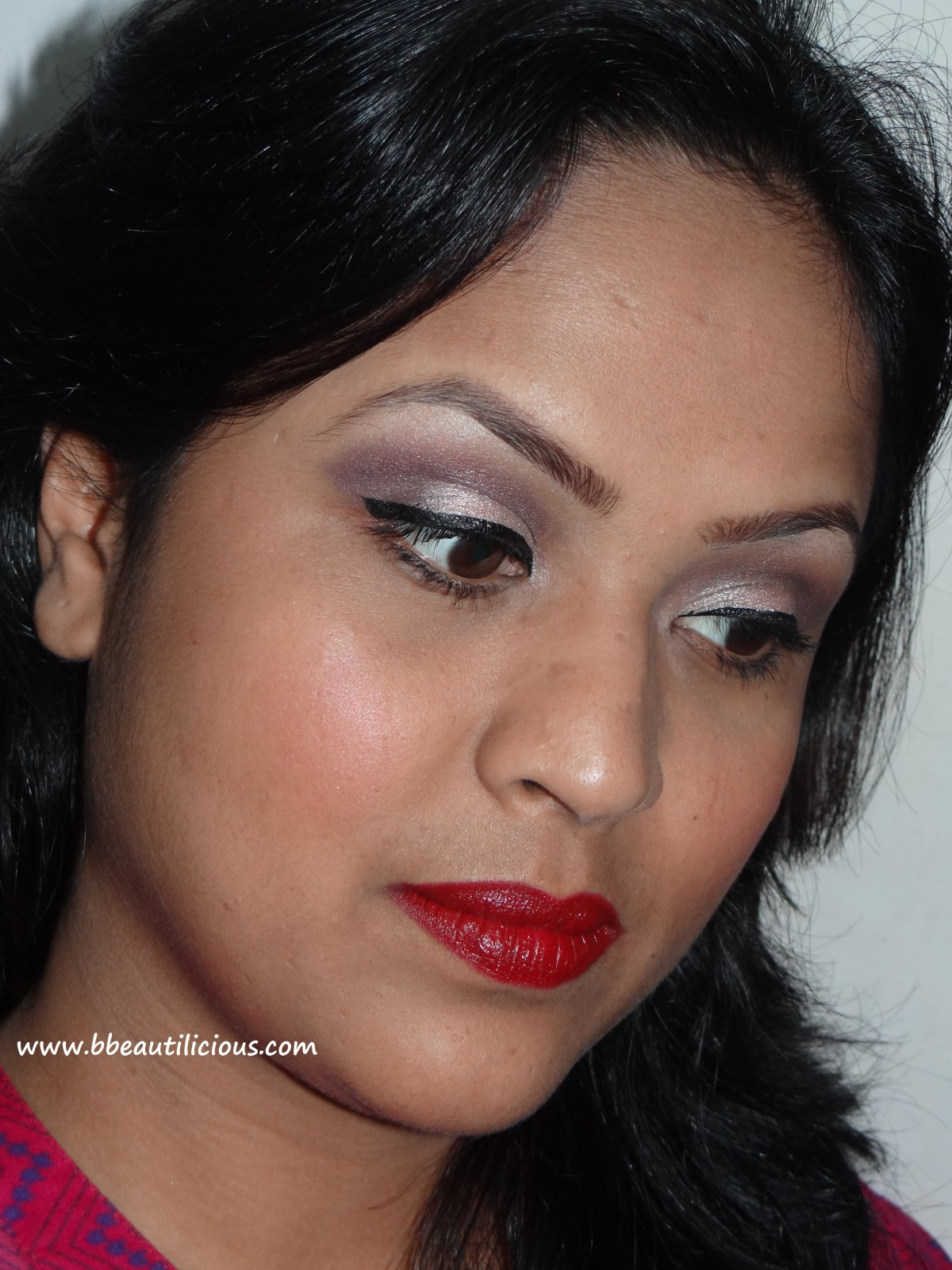 Sleek True Color lipstick Vamp look