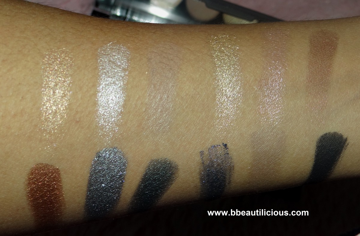 Sleek i-divine Storm Palette review and swatches