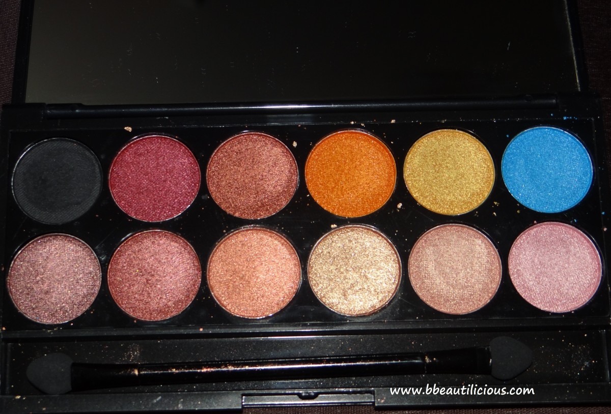 Sleek i divine Sunset eyeshadow palette