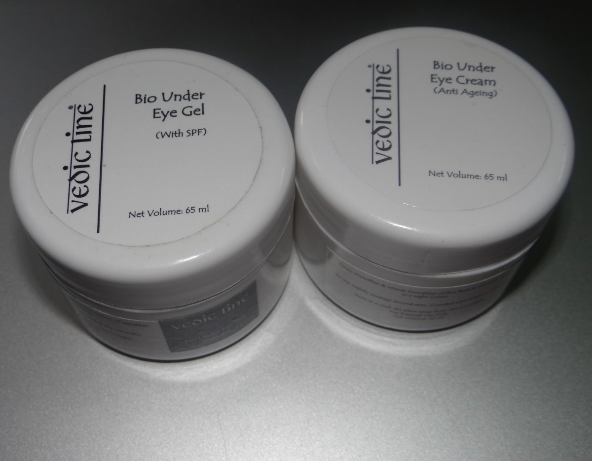 Vedic Line Bio Under Eye Cream & Gel Review