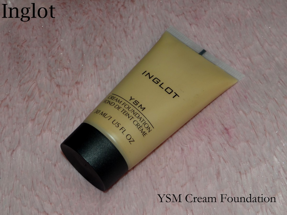 Inglot YSM Foundation shade review and swatches