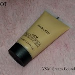 Inglot YSM Cream Foundation Review Swatches Photos