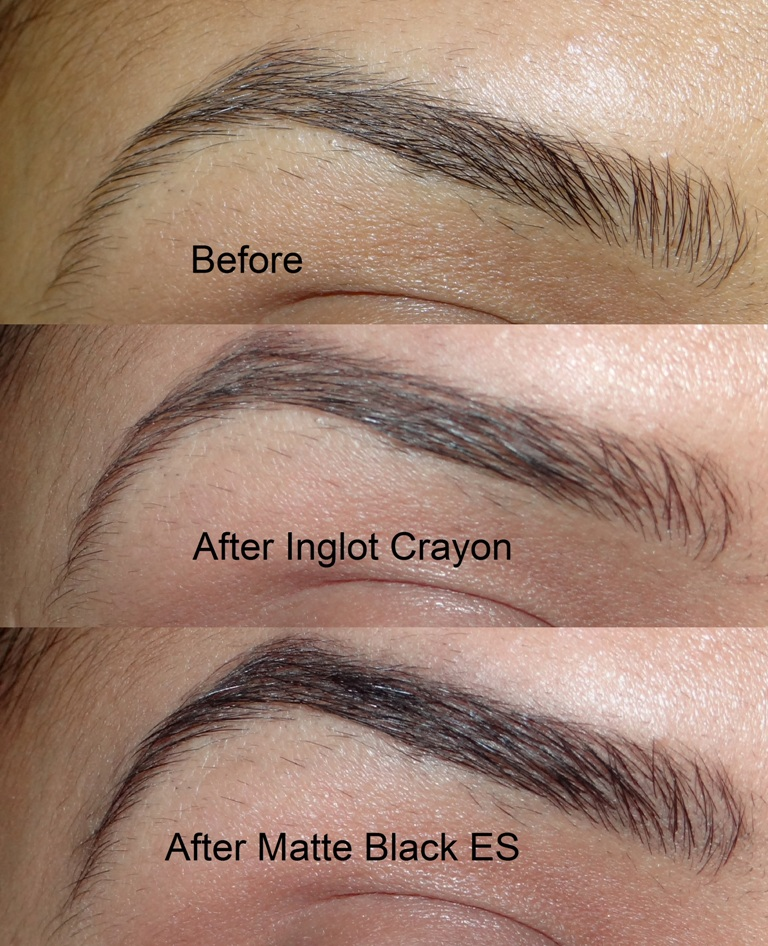 Inglot eyeBrow Pencil review and swatches