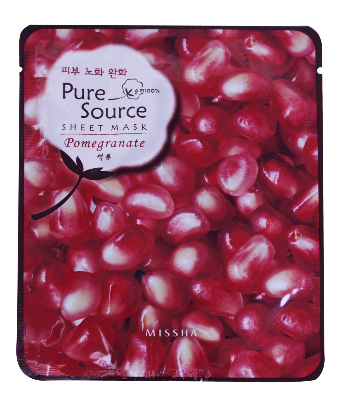 Pomegranate Pure Soure Sheet Mask by Missha