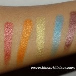 Sleek Eyeshadow Palettes Swatches