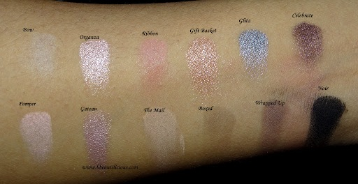 sleek i-divine oh so special eyeshadow palette swatch