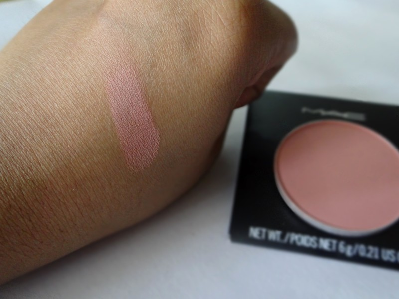 MAC Mocha Blush review and swatches (1)