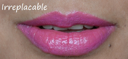 MUA Power Pout Irreplaceable  Review and Swatches
