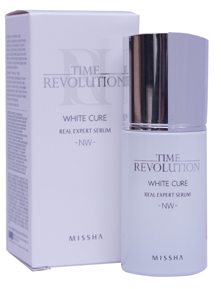 Missha Time Revolution White Cure Real Expert Serum