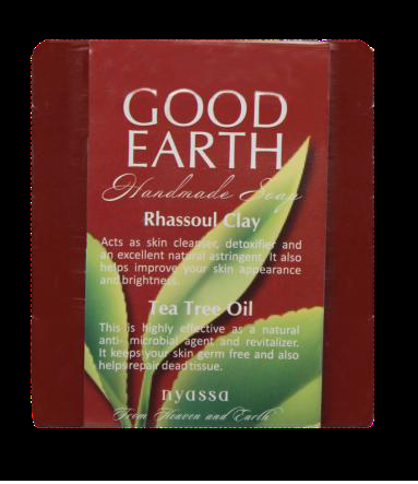 Nyassa Good Earth handmade soap