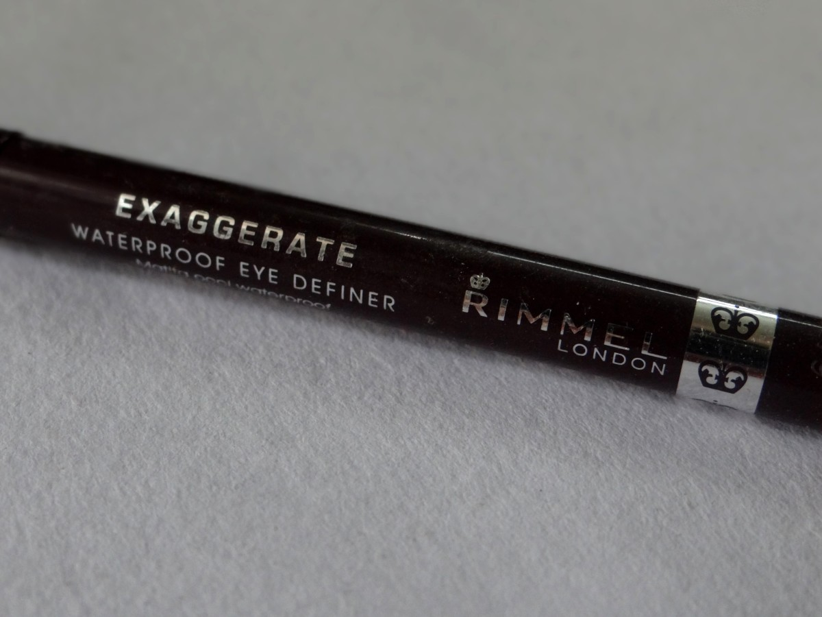 Rimmel Exaggerate Waterproof eye definer deep wine  (4)
