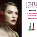 Lotus Herbals' Launches 5 Trendy New ColourDEW™ Nail Enamel