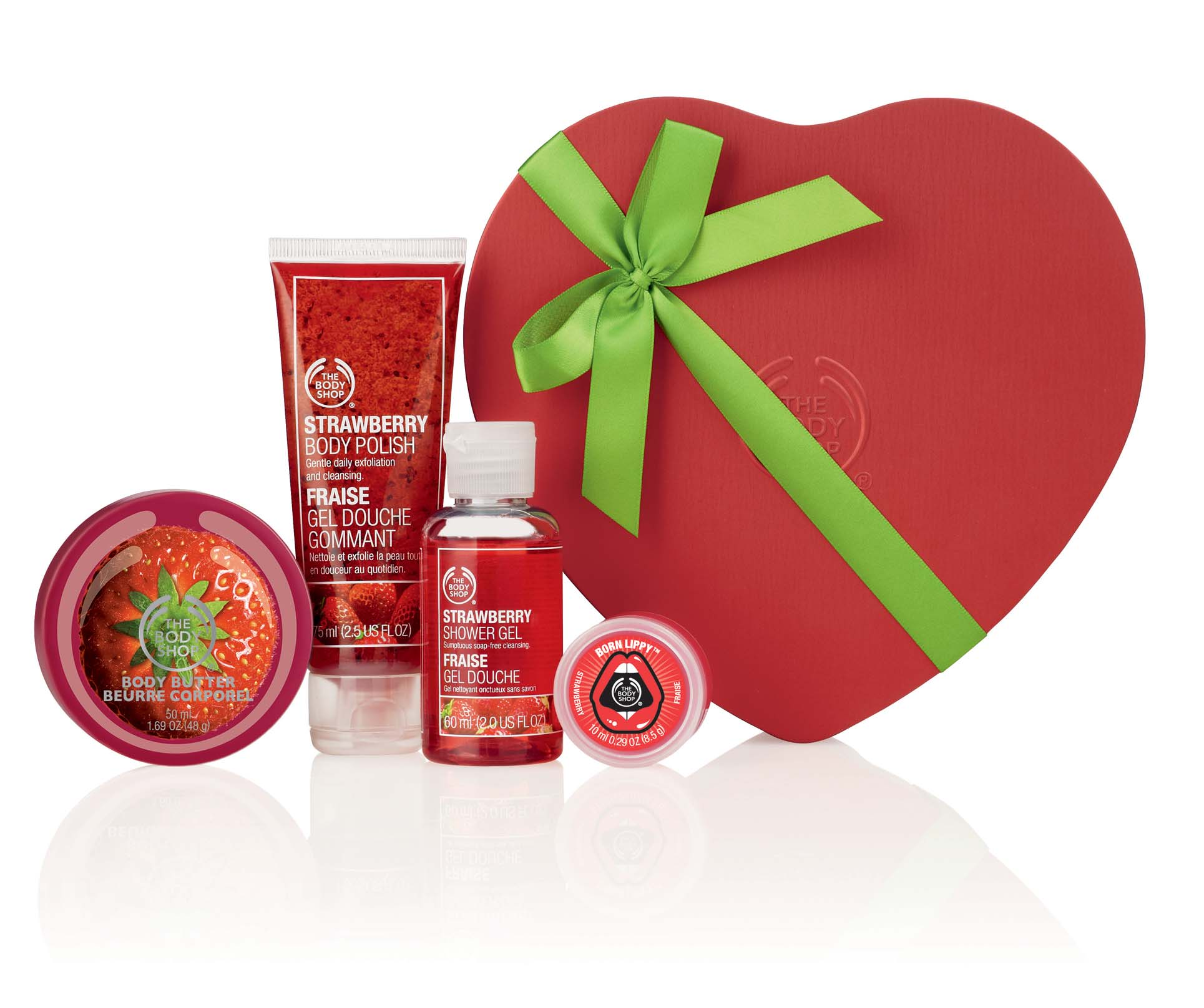 THE BODY SHOP GIFT HEART TIN, Rs 1795