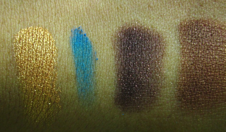 Yves Saint Laurent 4-Colour Harmony for Eyes #5 Tawny swatches