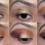 eye makeup using sleek sunset palette 1 150x150