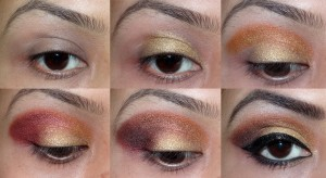 eye makeup using sleek sunset palette (1)