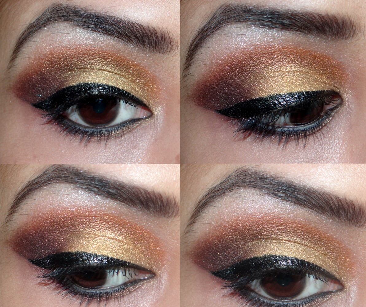 eye makeup using sleek sunset palette (11)