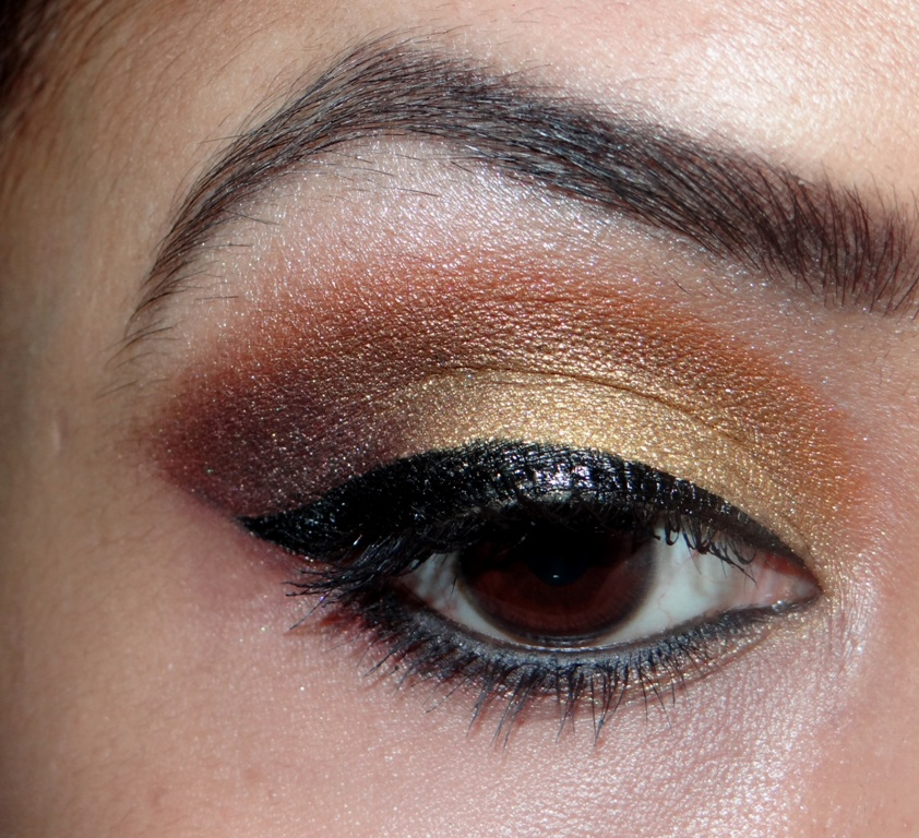 eye makeup using sleek sunset palette (13)