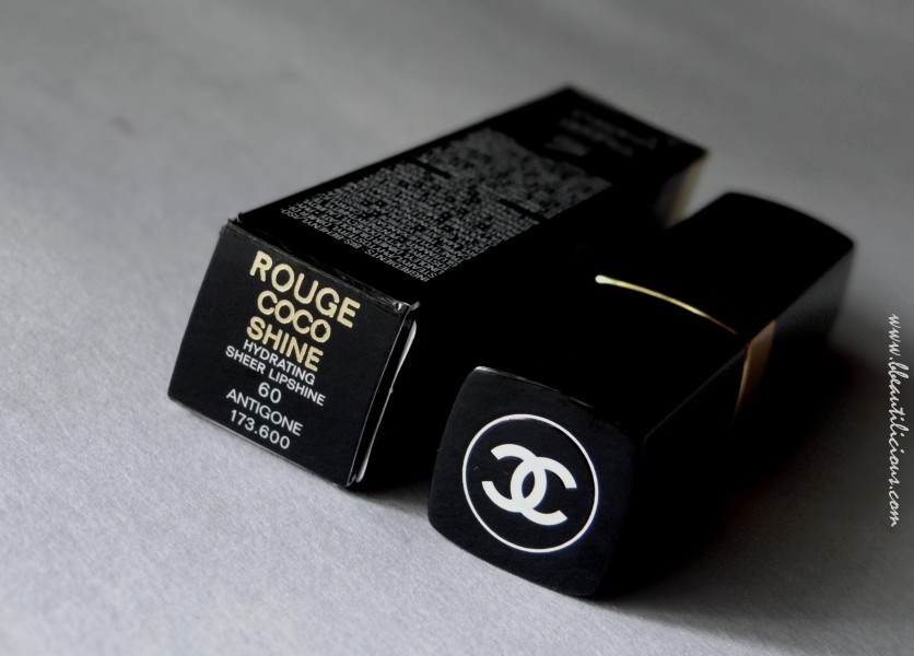 Chanel Rouge Coco Shine Antigone Lipstick Review Swatches