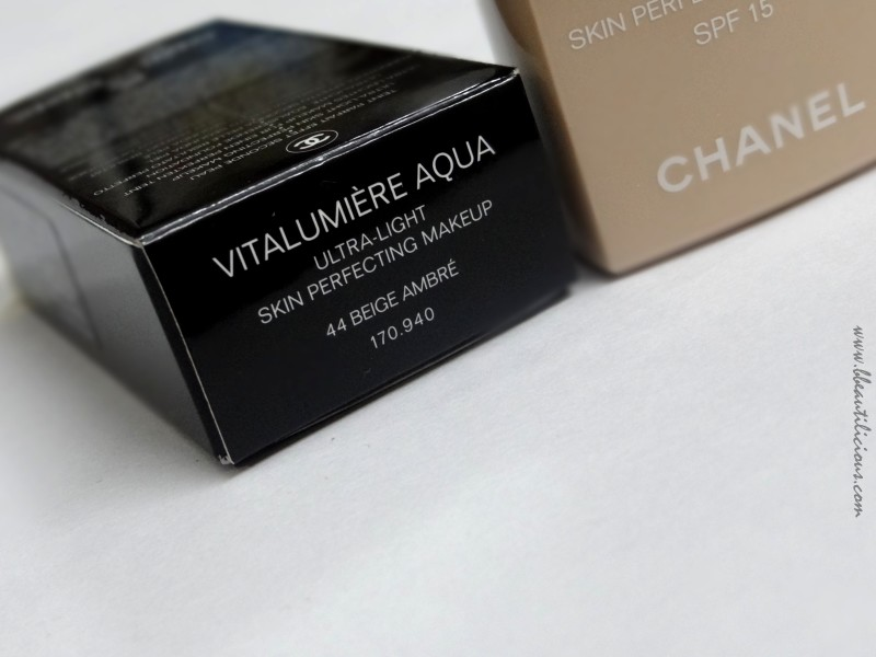 Chanel Vitalumiere Aqua Foundation (4)