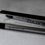 Colorbar I-Glide Eye Pencil Blackout Review & Swatches