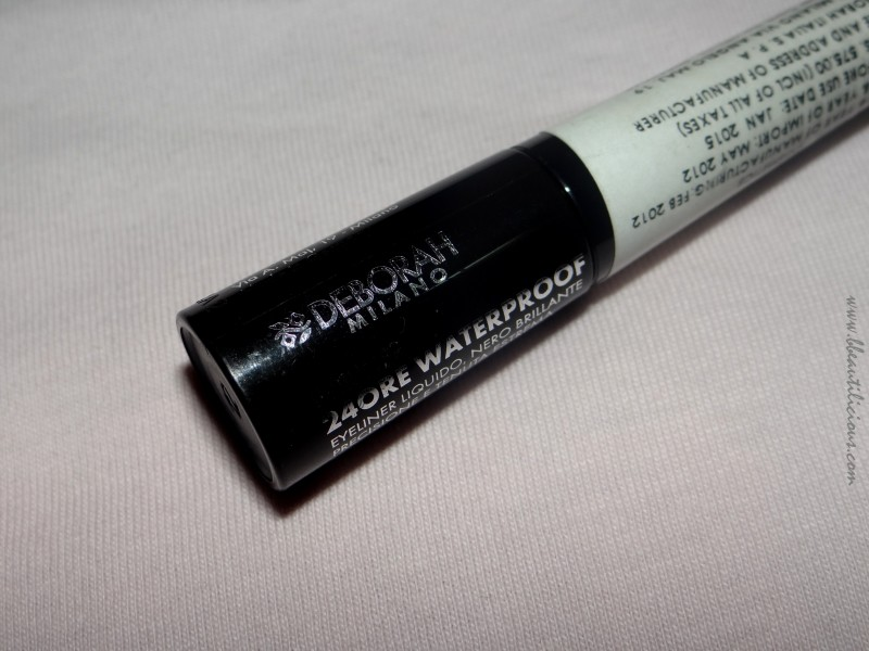 Deborah Milano 24 ore waterproof eyeliner review (2)