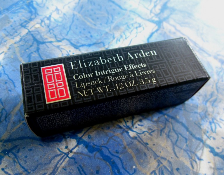 Elizabeth Arden Color Intrigue Effects Lipstick Rosy Shimmer Review (1)