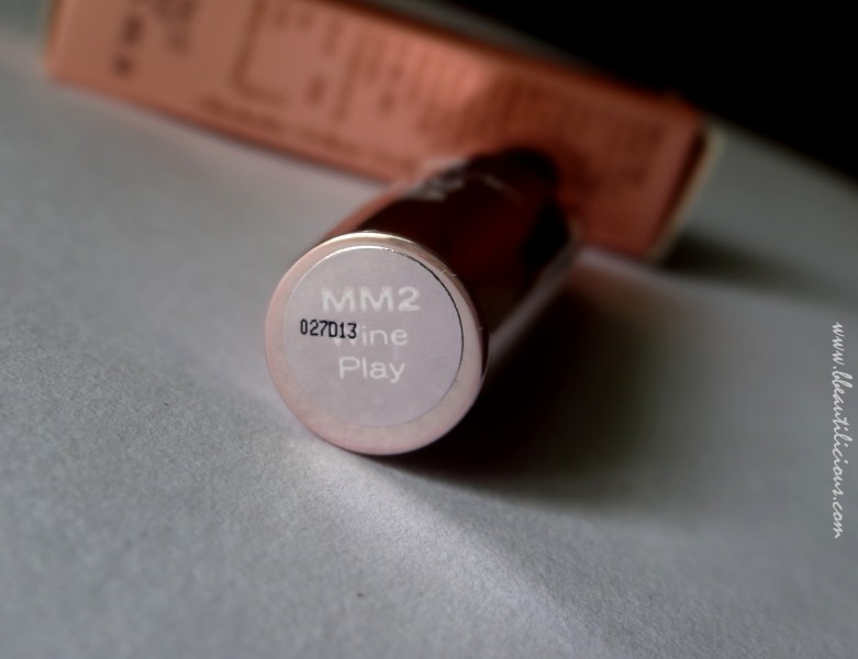 Lakme 9to5 lipstick Wine Play Review Swatches (3)