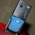Lakme Absolute Nail Tint Blue Breeze Review Swatches