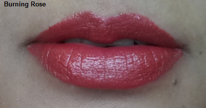 Loreal color riche lipstick burning rose and crazy fuchsia review swatches (6)