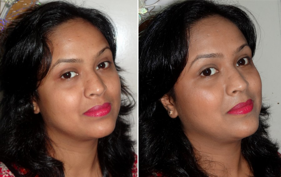 Lotus Herbals Purestay Foundation review swatches (2)