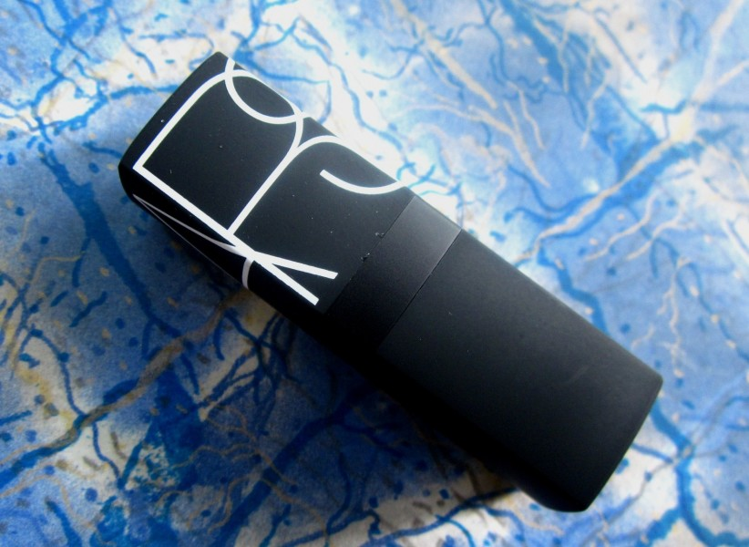 NARS Lipstick Joyous Red Review swatches (1)