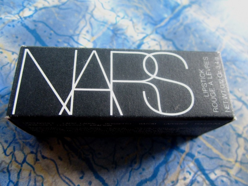NARS Lipstick Joyous Red Review swatches (5)