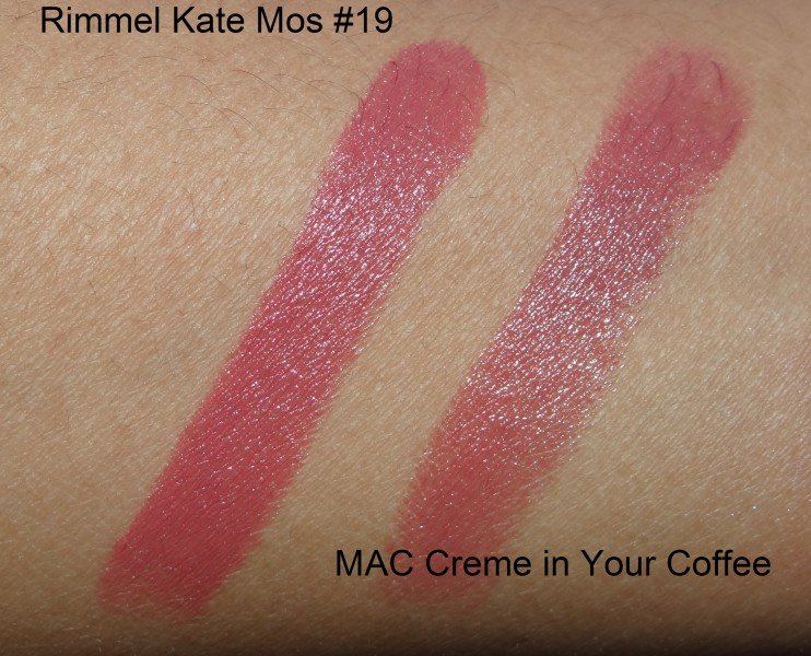 Rimmel Lasting Finish Lipstick by Kate Moss 19 review swatches  (1)