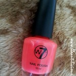 W7 Nail Polish Fluorescent Pink Review and Swatches