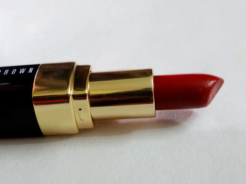 Bobbi Brown Lip Color Red 10 review swatches (6)