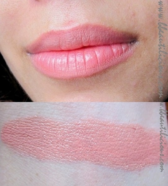 Bobbi Brown Lipcolor Salmon review swatches (7)